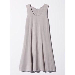 Aritzia Gray Talula Princely Dress